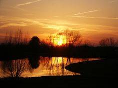 Martin, TN : Pacer Pond on The University of Tennessee at Martin campus