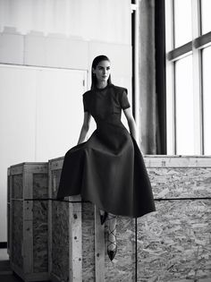 Hilary Rhoda models the season's chicest looks at the Whitney Museum of American Art for some MAJOR style inspiration. | #Editorial
