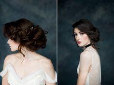 Layla & Isadora Black Bridal Hair Adornments from Blair Nadeau