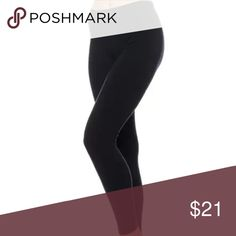 f7b61c9655123 Black eco Zone Leggings Super soft seamless leggings