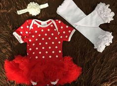 MINNIE MOUSE 3 PC SET Price $24.99, Free Shipping Options: 0/6M, 6/12M, 12/18M COMMENT SOLD WITH EMAIL AND SIZE TO PURCHASE.