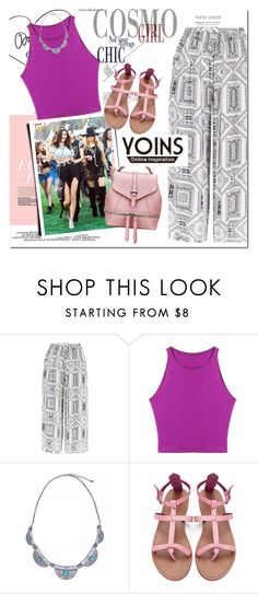 """YOINS.com"" by vict0ria ❤ liked on Polyvore featuring Chloé, yoins, yoinscollection and loveyoins"
