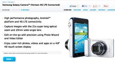 Galaxy Camera with Verizon LTE support outed by Samsung product page