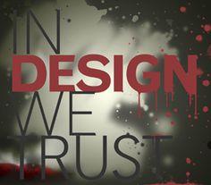 In design we trust! Trust, Digital Art, Calm, Neon Signs, Artwork, Design, Work Of Art, Auguste Rodin Artwork