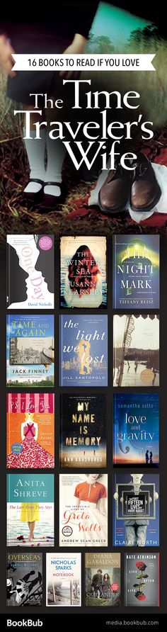 Must-read books if you love The Time Traveler's Wife, featuring romantic books, time travel books, and more. These would make great reading recommendations for women and for book clubs.
