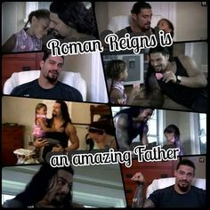 Roman Reigns is an amazing father! Wwe Superstar Roman Reigns, Best Wrestlers, Jeff Hardy, Wwe World, Seth Rollins, Movies Showing, Romans, Believe, Father