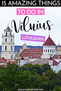 Not sure what to do in Vilnius, Lithuania? Not sure what to do in Vilnius, Lithuania? Then check out this expert's guide. It's filled with secret tricks and tips about 15 of the best things to do in Vilnius if you want to create the trip of a lifetime. Croatia Travel, Thailand Travel, Bangkok Thailand, Lithuania Travel, Poland Travel, Italy Travel, Travel Netherlands, Spain Travel, Europe Travel Guide