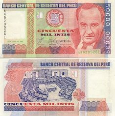 Billetes del Mundo / Banknotes of the world Baseball Cards, History, World, 3, Wealth, Collections, Report Cards, Childhood Memories, Nature Photography