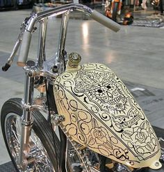 Wow!!! This tank jumped out to me as BADASS!!! The tank is so fly, I can overlook the bars.