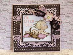 Papirdesign baby card