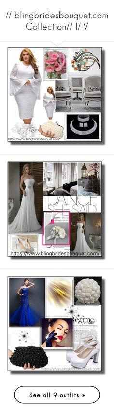 """// blingbridesbouquet.com Collection// I/IV"" by nura-akane ❤ liked on Polyvore featuring La Maison, Anja, vintage, H&M, Polaroid, Jennifer Lopez, Victoria's Secret and Corto Moltedo"