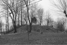 Burial Mound in Kentucky's Land of the Giants After Being Destroyed by the University of Kentucky