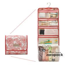Large Functional Hanging Rolling Toiletry Bag For Women Cosmetic Bag Traveling