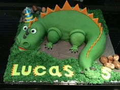 cute dinosaur cake - Google Search