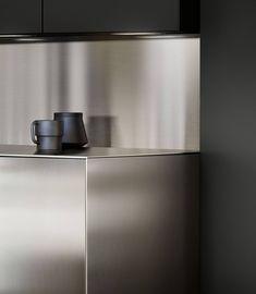Kitchen Countertops by SieMatic: More possibilities Kitchen Art, Kitchen Living, Kitchen Furniture, Kitchen Interior, Kitchen Drawing, Küchen Design, Cafe Design, Modernisme, Boffi