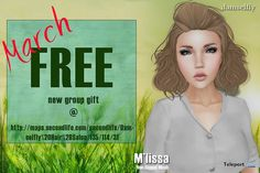 M'lissa Hair Group Gift by Damselfly
