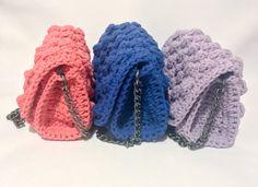 Crochet bag Handmade crochet clutch handcrafted clutch