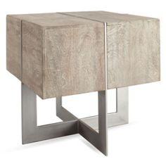 $449 Z Gallerie - Summer Sanctuary - Clifton Square End Table