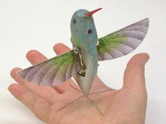 Nano Hummingbird AeroVironment developed the Nano Air Vehicle (NAV) under a DARPA sponsored research contract to develop a new class of air vehicle systems capable of indoor and outdoor operation. Employing biological mimicry at an extremely small scale, this unconventional aircraft could someday provide new reconnaissance and surveillance capabilities in urban environments.
