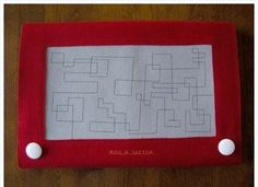 Etch-A-Sketch iPad\tablet cover! :D