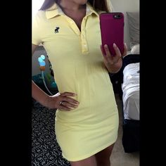 Abercrombie & Fitch polo dress Super cute & gently worn. Don't forget to bundle & save  Abercrombie & Fitch Dresses Mini