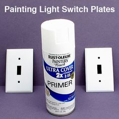 Buying Switch Plates vs. Painting Switch Plates