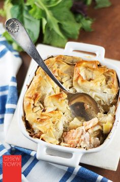 Chew Town: Fish and Fennel Pie