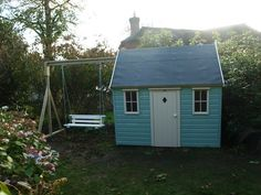 playhouse with swing seat