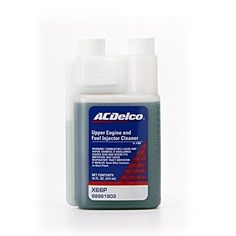 ACDelco Upper Engine and Fuel Injector Cleaner GM Fluid Automotive Cleaning 16oz #ACDelco