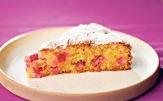 Polenta provides a wonderfully moist and rich gluten-free base for fruit cake.