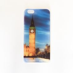 CLEARANCE❗️Big Ben iPhone 6 & 6S Case Landmark, cool, travel, photo, photography, Instagram, London, England, British, Britain, UK, Europe, fancy, night, jetsetter •  • Less than 1mm thick • Flexible case • Soft print • transparent sides • Covers metal part only • No lip • doesn't cover screen at all • PRINT IS LOW-RES & Has lines • Photos are photographed by me, don't use • NO OFFERS + NO TRADES Accessories Phone Cases
