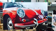 https://flic.kr/p/HU19G4 | #новыйцвет #картина #newcolordesign #newcolor #porsche #paint #painting #airbrush #thinair #аэрография #рисуем #порше #sportcar #art #porscheart #porscheclassic #carart #356 #911 #porsche356 #живопись  Porsche 356 roadster paintwork by Ekaterina Gerasimova newcolor_design_studio