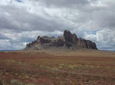 Volcanic neck south of Shiprock