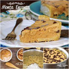 Torta Mousse de Doce de Leite Massa Podre crocante e esfarelenta na boca, uma espécie de bolachinha super saborosa,  que não tem quem não ame! Sobre ela, um delicioso mousse de doce de leite … que é pura gostosura! http://www.montaencanta.com.br/sobremesa-2/torta-mousse-de-doce-de-leite/