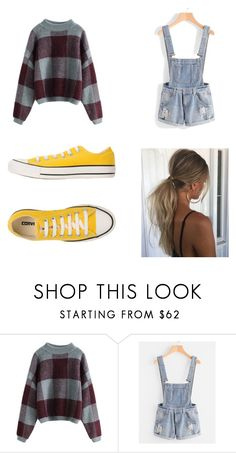 """""""Untitled #177"""" by littlenerdrosey17 ❤ liked on Polyvore featuring Converse"""