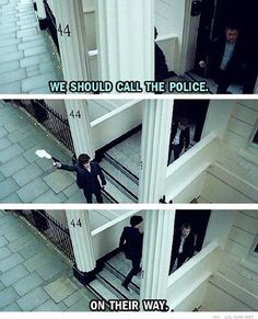 Quick way to call the police   #call #funny #police