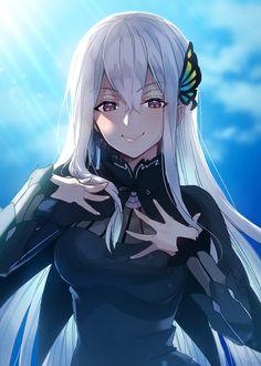 Anime Girl Cute, Kawaii Anime Girl, Anime Art Girl, Manga Girl, Anime Demon, Manga Anime, Re Zero Wallpaper, Anime Titles, Gothic Anime