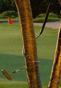 Ummmm...looks like the putt was missed...  Rock Bottom Golf #rockbottomgolf