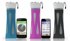 Check out the BluFit water bottle—it monitors your daily water intake to help you beat hydration.