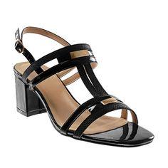 Angkorly Chaussure Mode Sandale Escarpin Lanière Cheville Femme Multi-Bride  Peau de Serpent Brillant Talon Haut Bloc 7 CM - Noir - BC376 T 37 3ea11ce7bac9