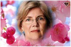 """Boston MA 2/14/17 A copy photo of a Photoshopped image of Elizabeth Warren's Go Fund Me page that her supporters created called, """"Fleurs 4 Senator War"""""""