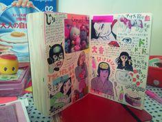 Sketchbook Inspiration, Bullet Journal Inspiration, Cool Journals, Art Diary, Arte Sketchbook, Journal Aesthetic, Scrapbook Journal, Planner, Art Journal Pages