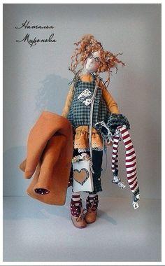 textile doll Natalia Mironova