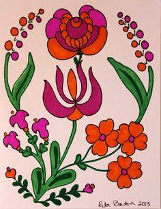 More Hungarian folk art