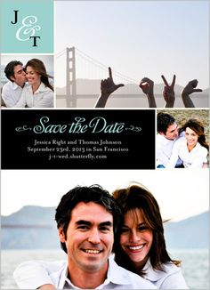 Perfect Pair Save the Date