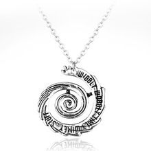 Fashion Jewelry Doctor Who Whirlpool Charms Necklace Pendants