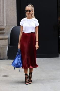 The Best Street Style Looks from New York Fashion Week New York Fashion Week Street Style, Nyfw Street Style, Spring Street Style, Cool Street Fashion, Street Style Looks, Street Chic, Modest Fashion, Fashion Outfits, Look Chic