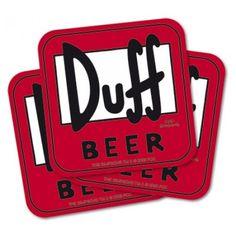 Pack de 15 Sous-Verres Bière Duff Simpsons