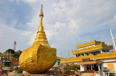 From Yangon To Golden Rock Pagoda (Kyaiktiyo) In One Day - Crazy Adventure In Myanmar (Burma)