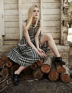 Elle Fanning by Billy Kidd-4